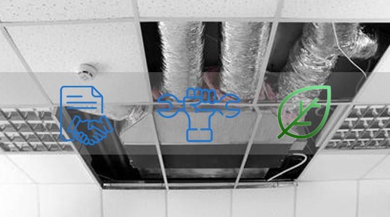 entretien des gainables de climatisation