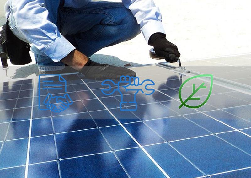 entretien des panneaux solaires photovoltaïques